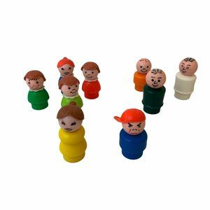 Lot of Vintage Fisher-Price Little People Figures